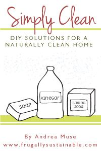 Great ebook on DIY homemade cleaners for the home!!!