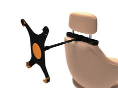 iPad headrest for $11.22 with flex arm vroom video, video project, flex arm, ipad headrest