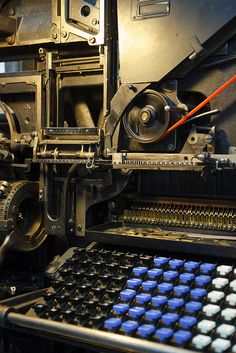 Do you know the history of printing? Here are some interesting facts about Linotype machines.