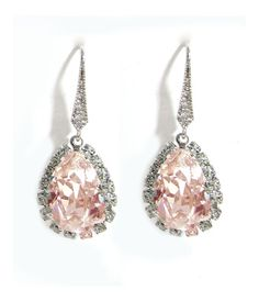 Ti Adoro-Blush Teardrop Earrings  seriously debating these!