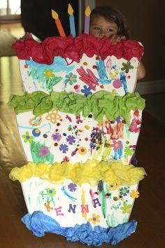 kid's birthday party activity - happy hooligans - birthday party craft idea