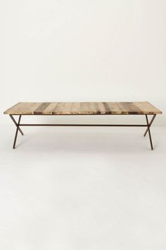 Plank House Coffee Table - Anthropologie