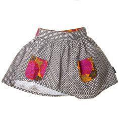 pocket, kids clothes, kid cloth, kids fashion, summer skirts, kid fashion, flower patterns