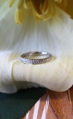 The perfect wedding band for those who like the simplier, finer things in life.