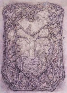 Quietness: Illustration by Vasilisa Koverzneva