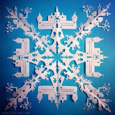 8 amazing snowflake