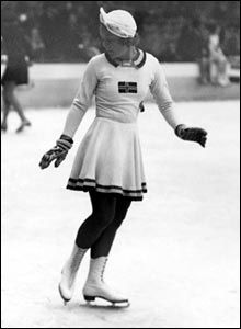 Norway's Sonja Henie took part in three Winter Olympics from 1928-36 winning gold in figure skating in each Games.