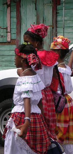 10-1-12  Creole Week 2006, Dominica