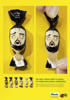 Creative Ricola Throat Drop Ad