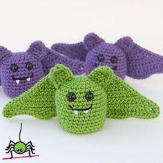 Amigurumi Bat by itybityspider | Crocheting Pattern