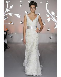 lace bridal gown.