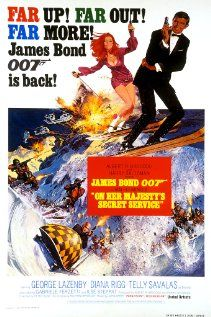 On Her Majesty's Secret Service (1969). Fleming's best book and still the best Bond film...