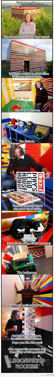 LEGO House  James May