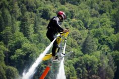 Jetovator - not quite as cool as the JetLev - $9000