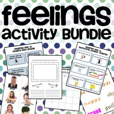 Tons of great activities for teaching feelings.