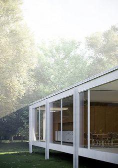 Farnsworth House, Mies van der Rohe