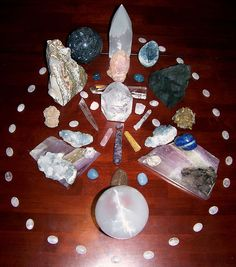 Recharge and Renew Within the Crystal Circle