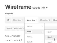 Wireframe kit freebie