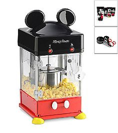 Product: Disney® Mickey Mouse Popcorn Maker. This is a MUST!!!