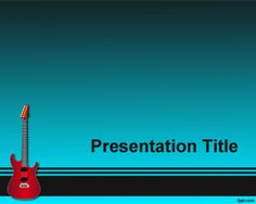 Music background style for musical presentations and templates