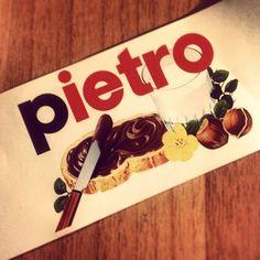 ..ma per noi sarai sempre e solo..Pietro..