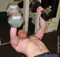 dumbells jock gym workout