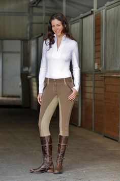 How to wear riding boots with socks
