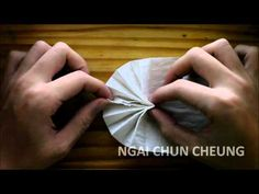 Origami Toilet Paper Fan (Tutorial)