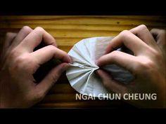 Origami Toilet Paper Fan (Tutorial)