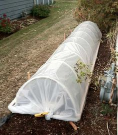 Low Tunnel Construction: How to Build a Mini Hoop House