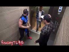 mortal kombat elevator prank!!! Fouseytube - YouTube