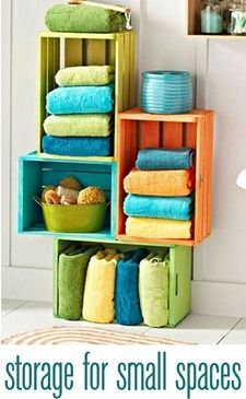 I will need to do this for our teeny tiny bathroom