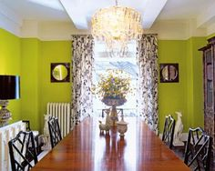 chartruese rooms   Chartreuse is also showing up in holiday decor too. The color can be a ...
