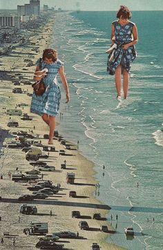 Walk on the Beach // SarahEisArt