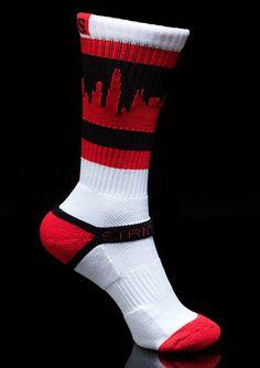 CHIbulls Skyline Sock