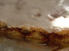 Yum... I'd Pinch That! | Honey Bun Cake Get a cup of coffee and hope you can stop with one piece of this yummy gooey cake, and do not feel guilty about it!!!