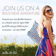 As we expand our Product line we need people to help us share the style!  Details http://www.stelladot.com/Randimanning