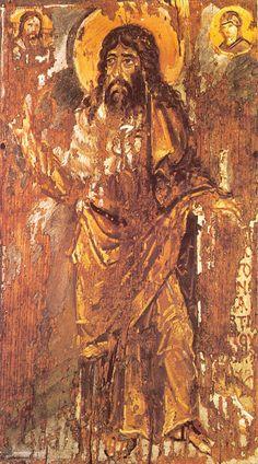 Unknown Artist. St John the Baptist icon, St Catherine Monastery, Mt Sinai