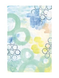 Graphic Bubbles no.1 by Alethea and Ruth for Minted