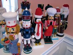 Nutcrackers. I love