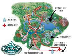Expedition Everest Challenge, 5k obstacle course through Disney's Animal Kingdom