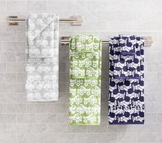 Transportation Jacquard Bath Towel Collection | Pottery Barn Kids #potterybarnkids #spring2014