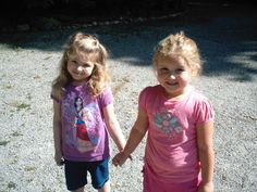 My granddaughters Ava and Adison <3