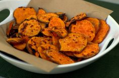 Traeger Sweet Potato Chips With Sea Salt