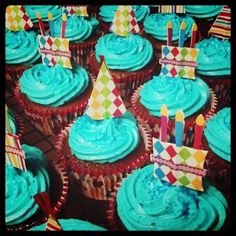 Chocolate Cupcake with homemade buttercream icing :)