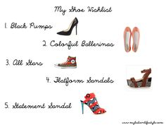 Shopping | Shoe Wishlist | My Lisbon Lifestyle