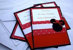 minnie mouse invitations!