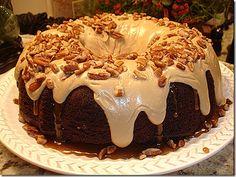 Paula Deen's Chocolate Pecan Layer Cake