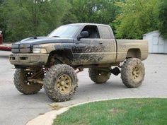 Dodge Ram #muddin