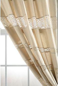 Lace Stripe Curtain $49.99